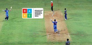 BARC India,BARC ratings,Cricket viewerships,Cricket viewership in India,Cricket Live