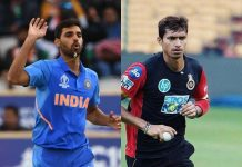 Unfit Bhuvi prompts India to summon Saini as net bowler