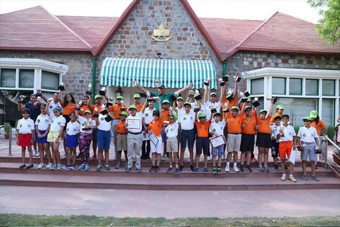 Usha International,Delhi Golf Club,Golf Club in India,Golf Club in Delhi,Usha Junior Training Programme