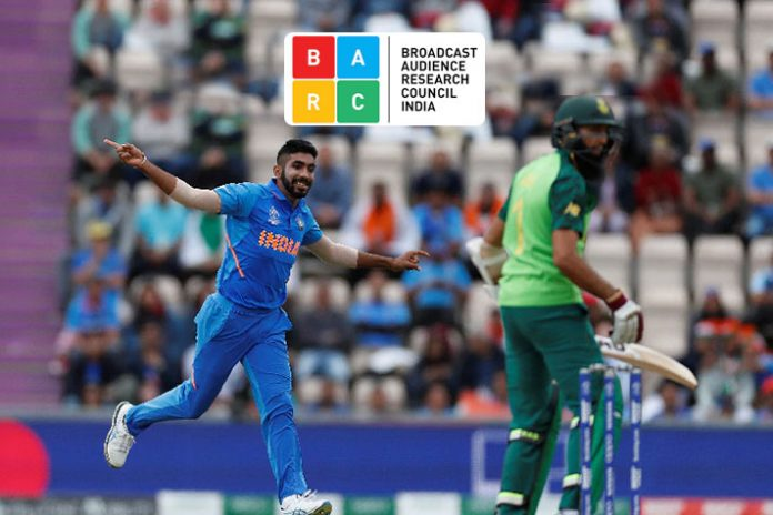 BARC India,BARC Ratings,ICC World Cup 2019,ICC World Cup Campaign,Broadcast Audience Research Council