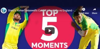 Cricket World Cup 2019,ICC Cricket World Cup 2019,Watch ICC World Cup 2019,England vs Australia Top 5 Moments,ICC World Cup Top 5 Moments
