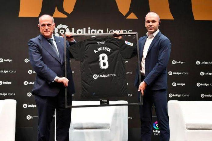 LaLiga Icons,LaLiga president,LaLiga Ambassadors,FC Barcelona,Andrés Iniesta