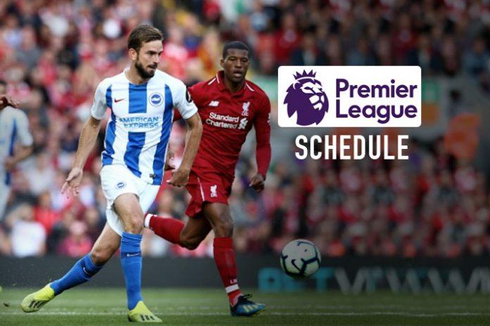 Premier League,Premier League Schedule,Premier League 2019,Premier League 2019 Schedule,Premier League 2019 Fixtures