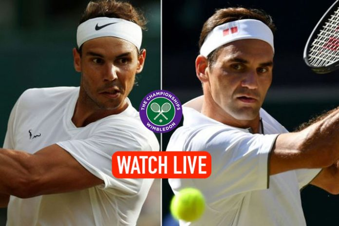 Wimbledon 2019 Live,Wimbledon 2019 Semifinal Live,Wimbledon 2019 Semifinal,Rafael Nadal vs Roger Federer Live,Sports Sports Live