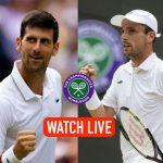 Wimbledon 2019 Live,Wimbledon 2019 Semifinal Live,Wimbledon 2019 Semifinal,Novak Djokovic vs Roberto Bautista Agutand Live,Sports Sports Live