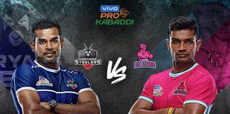 PKL 2019 Live,PKL 2019 Season 7 Live,Vivo Pro Kabaddi League 2019 Live,Jaipur Pink Panthers vs Haryana Steelers Live,Watch Jaipur Pink Panthers vs Haryana Steelers Live