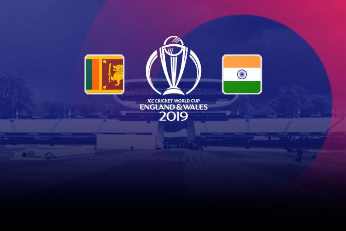 ICC World Cup 2019 IND VS SL Live: India vs Sri Lanka When