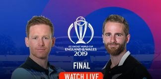 ICC World Cup 2019 Live,ICC Cricket World Cup 2019 Live,Watch ICC World Cup 2019 Live,England vs New Zealand Final Live,Watch England vs New Zealand Final Live