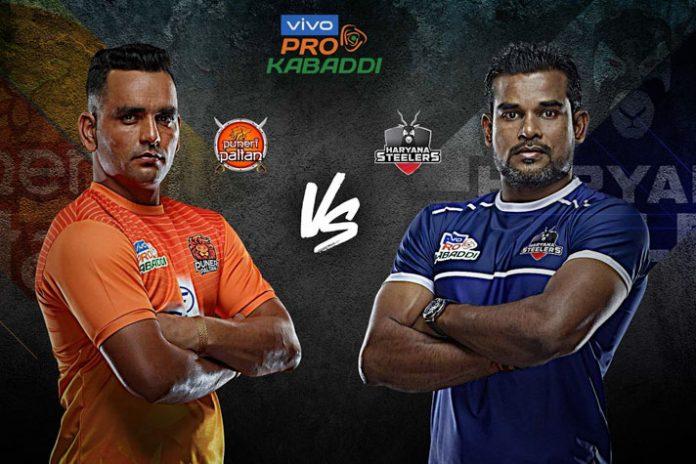 PKL 2019 Live,PKL 2019 Season 7 Live,Vivo Pro Kabaddi 2019 Live,Puneri Paltan vs Haryana Steelers Live,Watch Puneri Paltan vs Haryana Steelers Live