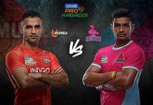PKL 2019 Live,PKL 2019 Season 7 Live,Vivo Pro Kabaddi 2019 Live,Jaipur Pink Panthers vs U Mumba Live,Watch Jaipur Pink Panthers vs U Mumba Live