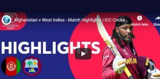Cricket World Cup,ICC Cricket World Cup 2019,World Cup 2019 Highlights,West Indies vs Afghanistan Highlights,Watch West Indies vs Afghanistan Highlights