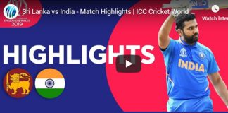 ICC World Cup 2019 Highlights,ICC Cricket World Cup 2019 Highlights,Watch ICC World Cup 2019 Highlights,India vs Sri Lanka Highlights,Watch India vs Sri Lanka Highlights