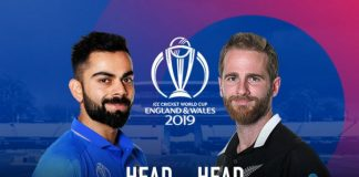 ICC World Cup 2019 Live,ICC Cricket World Cup 2019 Live,Watch ICC World Cup 2019 Live,India vs New Zealand head to head,India vs New Zealand head to head matches