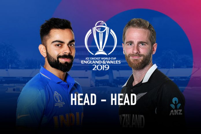 ICC World Cup 2019 Live,ICC Cricket World Cup 2019 Live,India vs New Zealand Semifinal Live,India vs New Zealand Head to Head,India vs New Zealand Head to Head matches