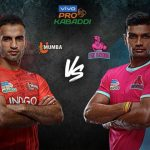 PKL 2019 Highlights,PKL 2019 Season 7 Highlights,Vivo Pro Kabaddi 2019 Highlights,Jaipur Pink Panthers vs U Mumba Highlights,Watch Jaipur Pink Panthers vs U Mumba Highlights