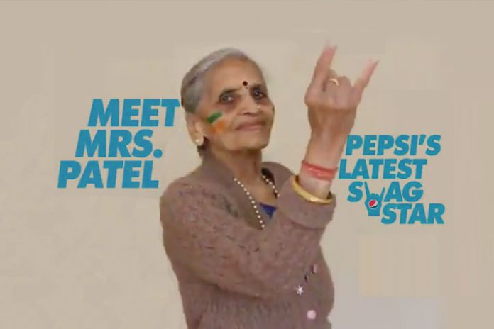 Just one match makes this Team India fan a face of multinational brand's campaign