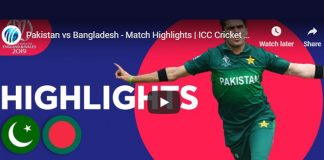 ICC World Cup 2019 Highlights,ICC Cricket World Cup 2019 Highlights,Watch ICC World Cup 2019 Highlights,Pakistan vs Bangladesh Highlights,Watch Pakistan vs Bangladesh Highlights