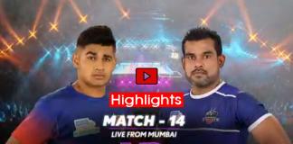 PKL 2019 Highlights,PKL 2019 Season 7,Vivo Pro Kabaddi League 2019,Dabang Delhi vs Haryana Steelers Highlights,Watch Dabang Delhi vs Haryana Steelers Highlights