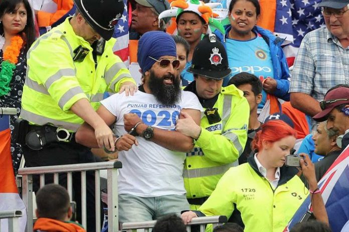 Pro-Khalistan protestors evicted from Old Trafford