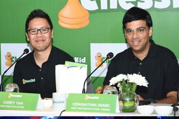 Viswanathan Anand,Chess online,Online chess US,Chesskid,Chesskid India