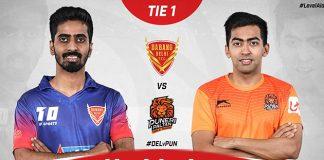 UTT 2019,Dabang Delhi vs Puneri Paltan,Dabang Delhi vs Puneri Paltan Highlights,Ultimate Table Tennis,UTT 2019 Highlights