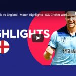 ICC World Cup 2019,ICC Cricket World Cup 2019,ICC World Cup 2019,England vs Australia Semi-Final Highlights,Watch England vs Australia Semi-Final Highlights