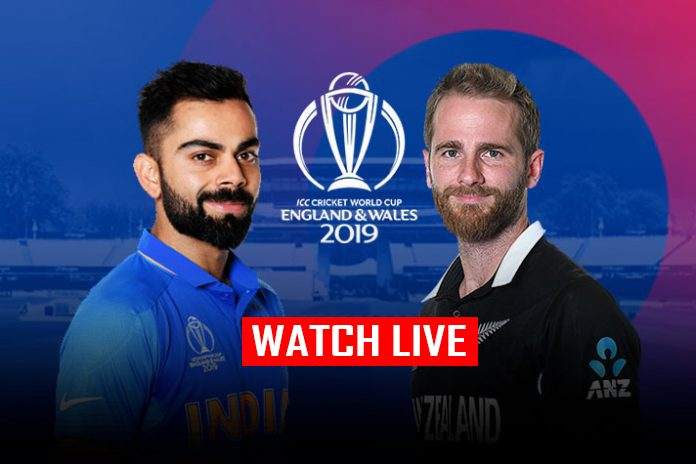 ICC World Cup 2019 Live,ICC Cricket World Cup 2019 Live,Watch ICC World Cup 2019 Live,India vs New Zealand Semi-Final Live,Watch India vs New Zealand Semi-Final Live