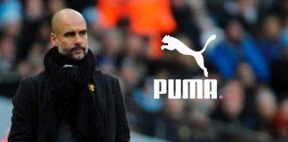 PUMA,PUMA Brand Ambassador,Manchester City FC,Pep Guardiola,Sports Business News