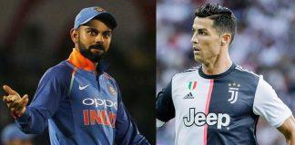 Virat Kohli,Cristiano Ronaldo,Virat Kohli Career,Cristiano Ronaldo Career,Sunil Chhetri