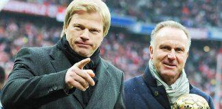 Oliver Kahn,Bayern Munich CEO,Bayern Munich,Bundesliga Clubs,Karl-Heinz Rummeniggve