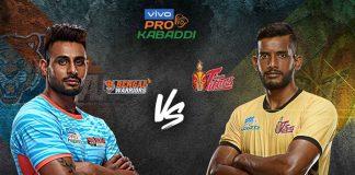 PKL 2019 Live,PKL 2019 Season 7 Live,Vivo Pro Kabaddi League 2019 Live,Telugu Titans vs Bengal Warriors Live,Watch Telugu Titans vs Bengal Warriors Live
