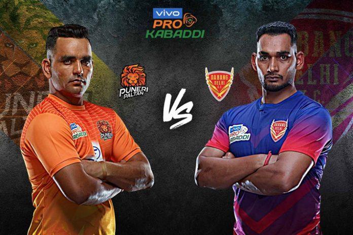 PKL 2019 Live,PKL 2019 Season 7 Live,Vivo Pro Kabaddi League 2019 Live,Puneri Paltan vs Dabang Delhi Live,Watch Puneri Paltan vs Dabang Delhi Live