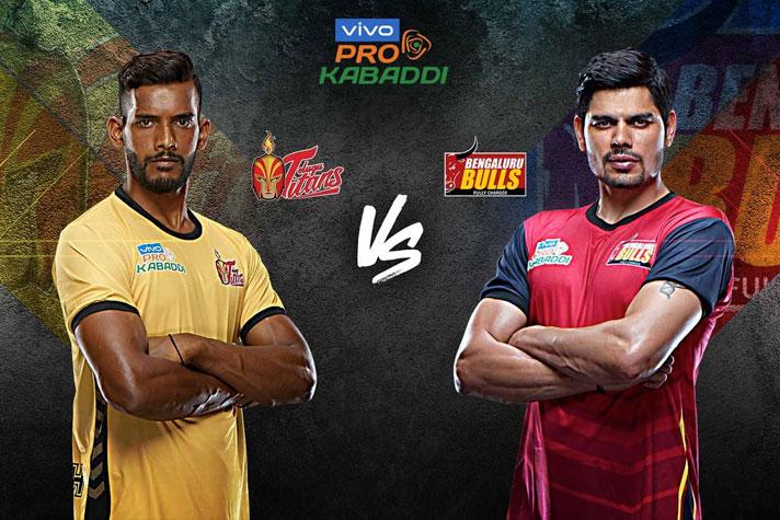 PKL 2019: Vivo Pro Kabaddi League 2019 Telugu Titans vs
