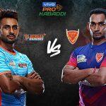 PKL 2019 Live,Pro Kabaddi Live,Pro Kabaddi League 2019 Live,Bengal Warriors and Dabang Delhi Live,Watch Bengal Warriors and Dabang Delhi Live