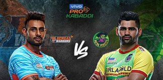 PKL 2019 Live,Pro Kabaddi Live,Pro Kabaddi League 2019 Live,Bengal WarriorsvsPatna Pirates Live,Watch Bengal WarriorsvsPatna Pirates Live