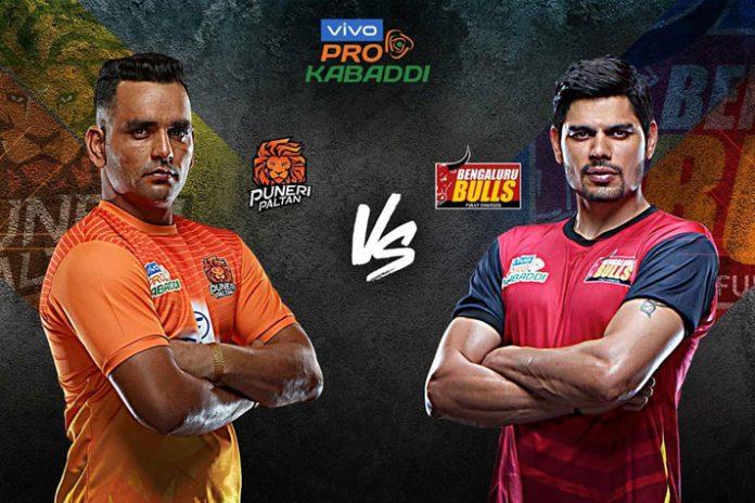 PKL 2019 Live,Pro Kabaddi Live,Pro Kabaddi League 2019 Live,Bengaluru Bulls vs Puneri Paltan Live,Watch Bengaluru Bulls vs Puneri Paltan Live
