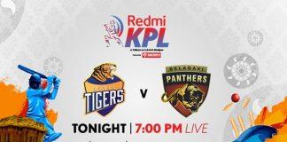 Karnataka Premier League 2019 Live,KPL 2019 Live,Karnataka Premier League 2019,Hubli Tigers vs Belagavi Panthers Live,Star Sports Live