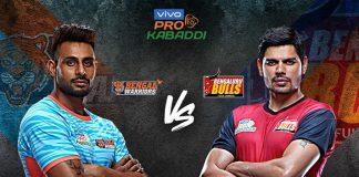 PKL 2019 Live,PKL 2019 Season 7 Live,Vivo Pro Kabaddi League 2019 Live,Bengal Warriors vs Bengaluru Bulls Live,Watch Bengal Warriors vs Bengaluru Bulls Live