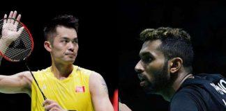HS Prannoy,Lin Dan,HS Prannoy vs Lin Dan,BWF World Championships 2019,BWF World Badminton Championships 2019