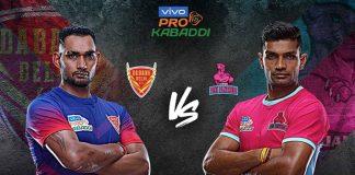 PKL 2019 Live,PKL 2019 Season 7 Live,Vivo Pro Kabaddi League 2019 Live,Dabang Delhi vs Jaipur Pink Panthers Live,Watch Dabang Delhi vs Jaipur Pink Panthers Live