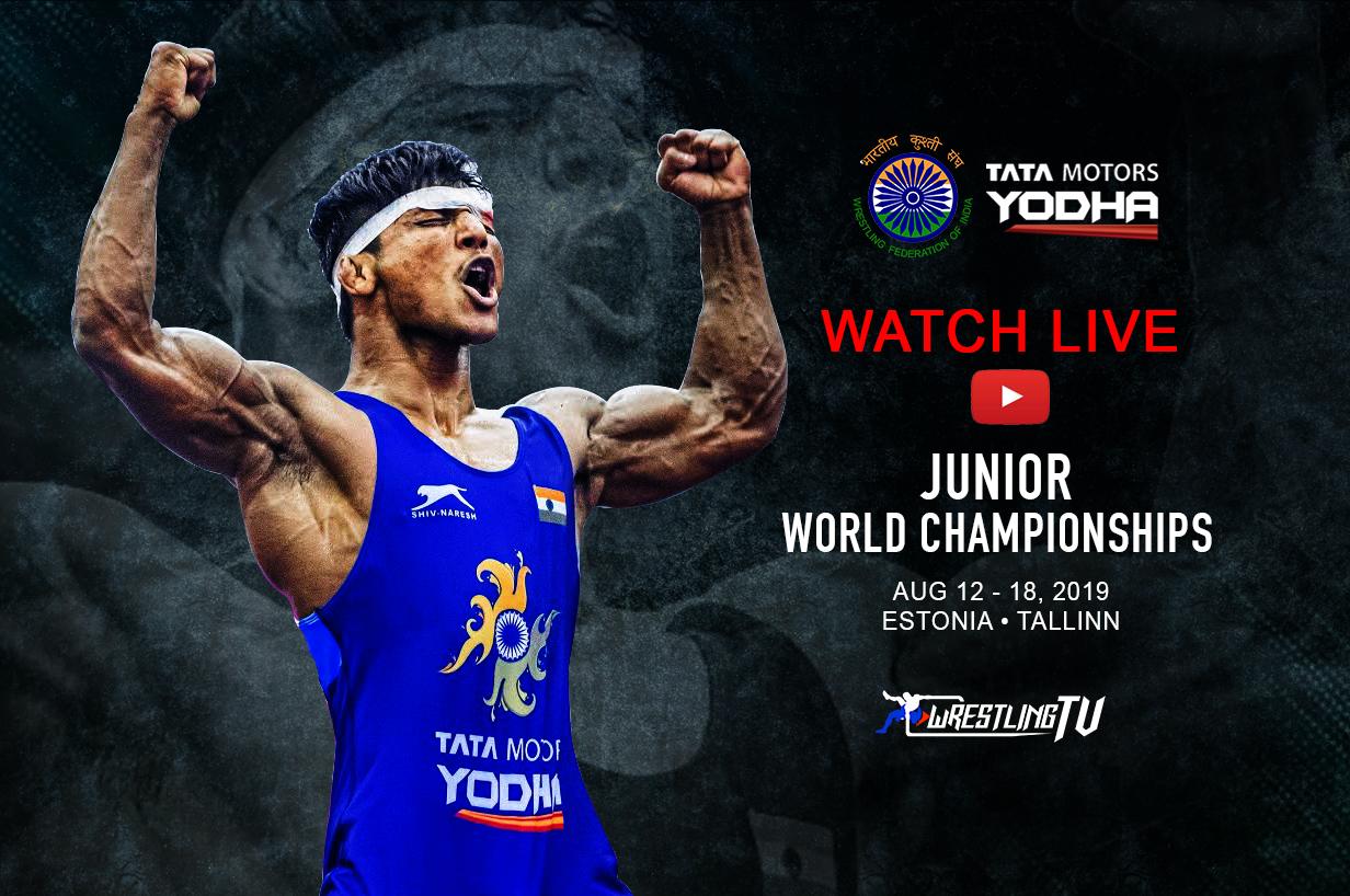 Junior World Wrestling Championships 2019: Watch Live