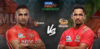 PKL 2019 Live,PKL 2019 Season 7 Live,Vivo Pro Kabaddi League 2019 Live,Gujarat Fortunegiants and U Mumba Live,Watch Gujarat Fortunegiants and U Mumba Live