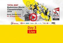 BWF Badminton World Championships 2019,Badminton World Championships 2019 Live,Badminton World Championships Live,BWF World Championships Live,Badminton Championships 2019 Live