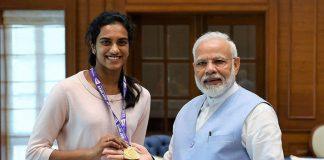 PV Sindhu,BWF Badminton World Championship 2019,BWF Badminton Championship 2019,Prime Minister of India,Narendra Modi
