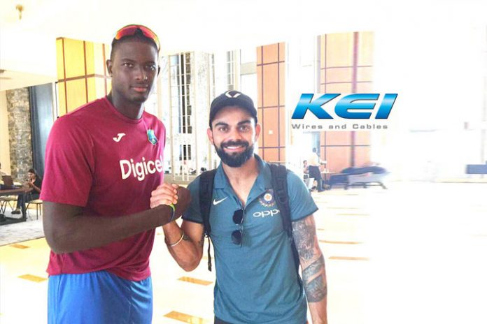 India vs West Indies Series Sponsorships,India vs West Indies Series,Cricket West Indies,KEI Industries Sponsorhips,KEI Wires and Cables