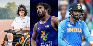 Rajiv Gandhi Khel Ratna,Rajiv Gandhi Khel Ratna award,Khel Ratna award,Deepa Malik,Bajrang Punia
