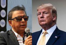 Gavaskar meets Trump while on charity fund-raising trip to US
