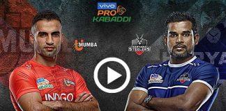 PKL 2019 Highlights,Pro Kabaddi Highlights,Pro Kabaddi League 2019 Highlights,U Mumba vs Haryana Steelers Highlights,Watch U Mumba vs Haryana Steelers Highlights