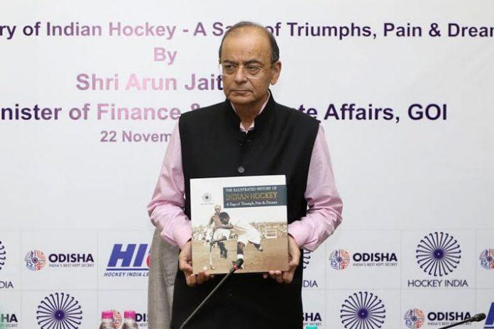 Hockey India condoles sad demise Arun Jaitley