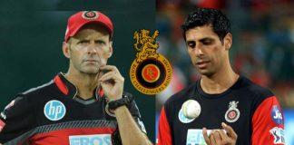 IPL 2020,Indian Premier League,Royal Challengers Bangalore,RCB Batting Coach,RCB bowling coach